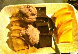 Dessert at Aireys Inlet Pub