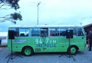 The Pulse radio station van