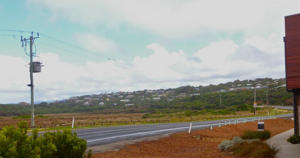 The coastal town of Aireys Inlet