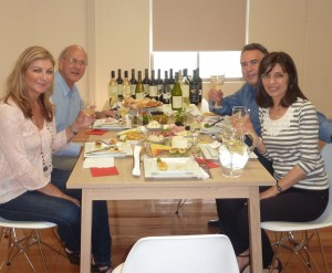 A fine feast - cheers Tapiz!