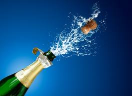 Pop the champagne!