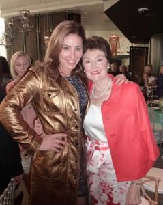 Andrea Moss and her mum, Diane John