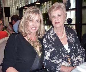 Brigitte Duclos with her mum, Shelia.