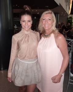 Lauren Phillips with her mum, Liz Coningsby