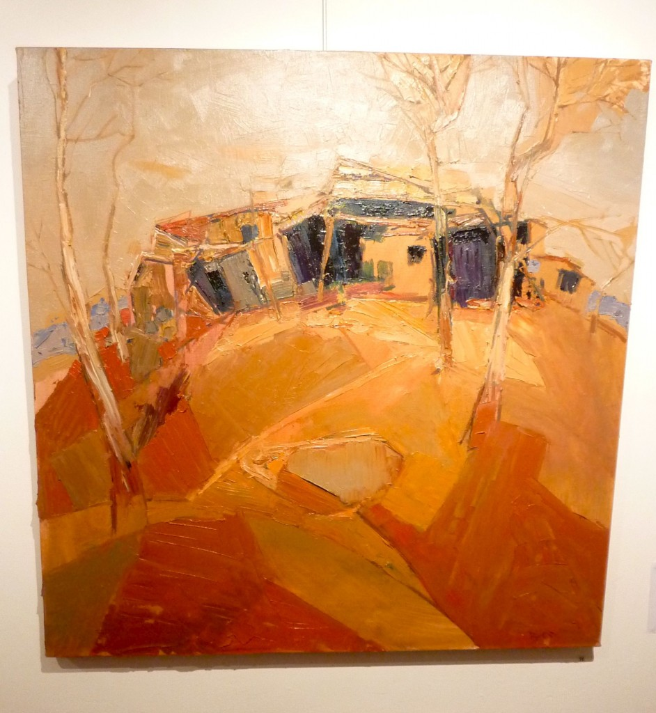 'Rundown Farm Shed', the painting in the raffle, worth $1600