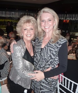 Patti and Lauren Newton
