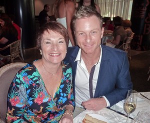 Tim Campbell and his mum, Heather