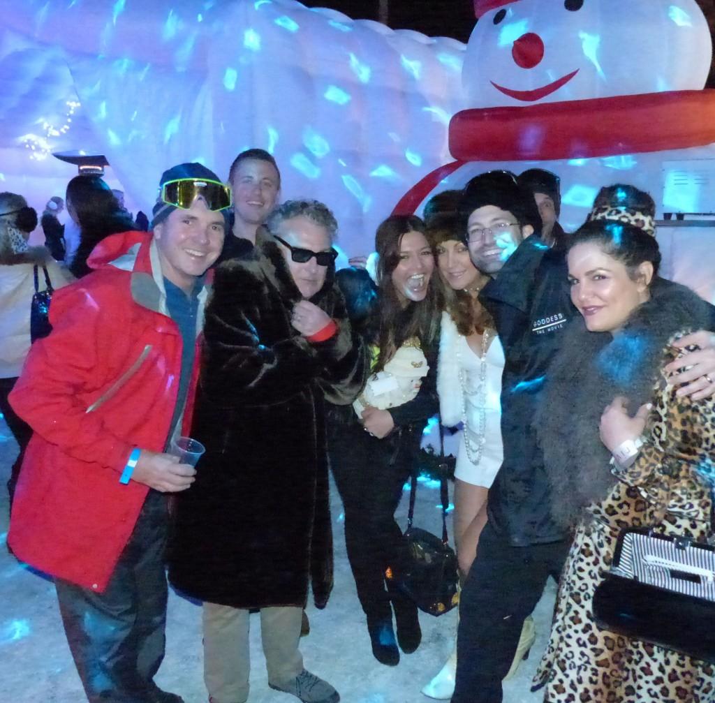 Fletch, Ross Wilson, Kasia Z, me, Seph McKenna and Tania Gogos-Wilson