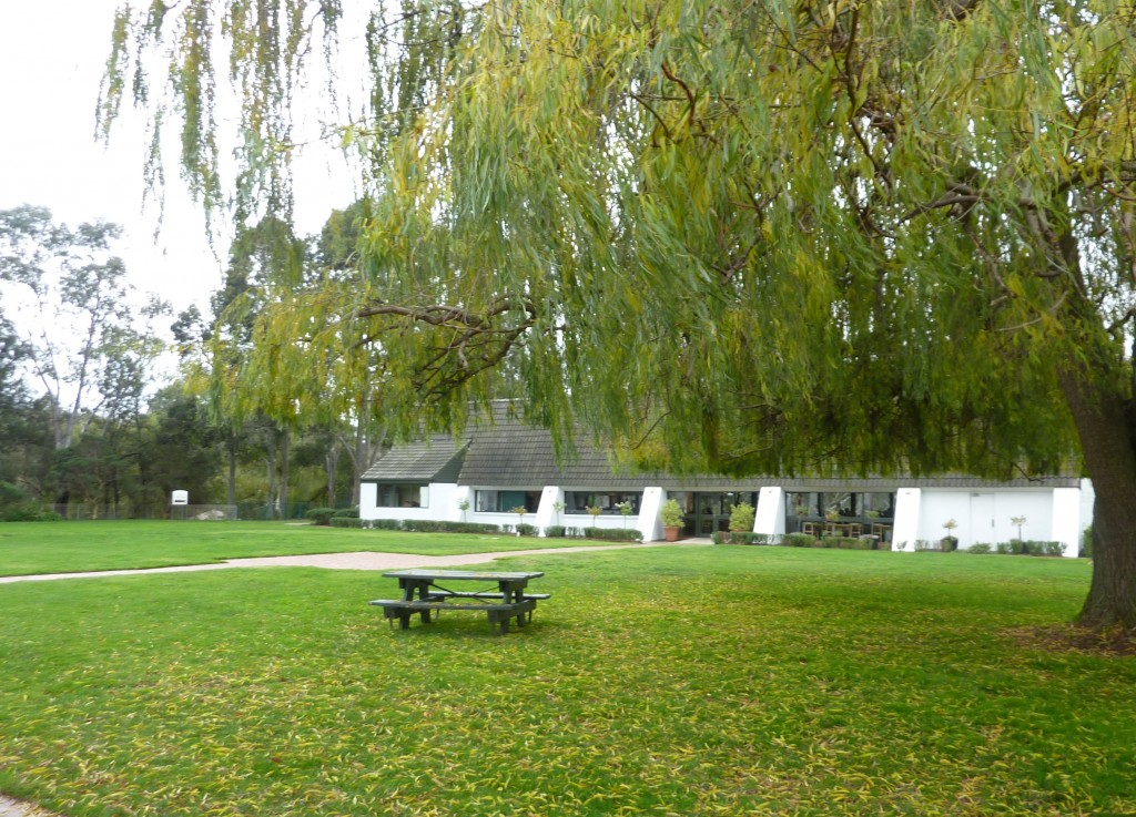 Mitchelton winery grounds