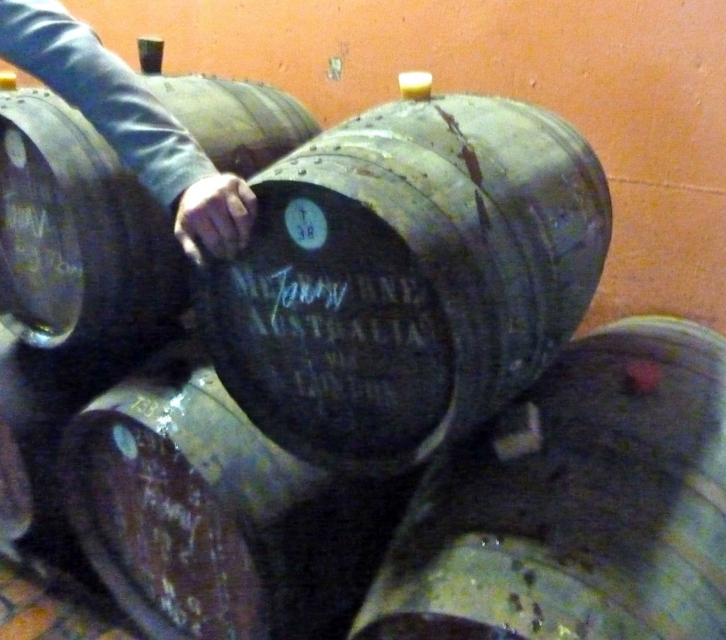 Raiding the tokay barrels...