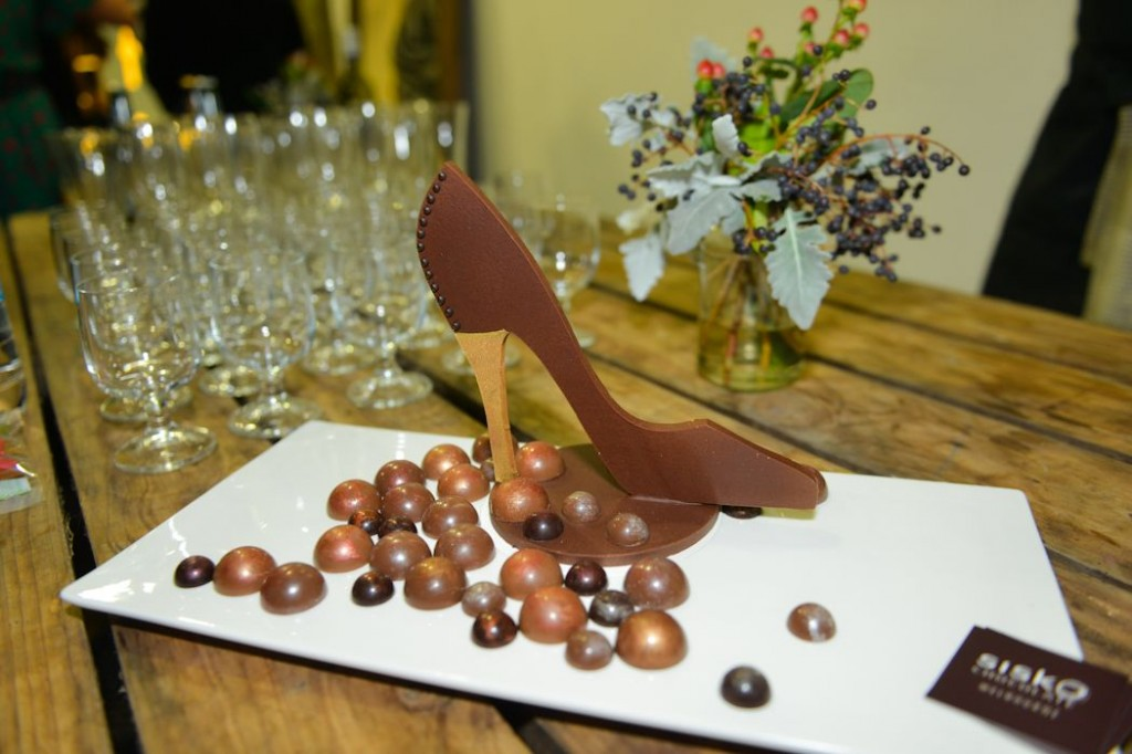 Sisko chocolate hand-crafted treats for the event PICTURE: Rosanna Faraci