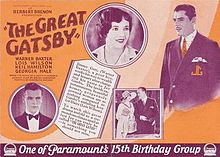 The first Great Gatsby from 1926