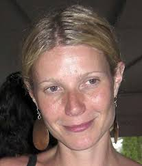 Gwyneth Paltrow goes makeup free