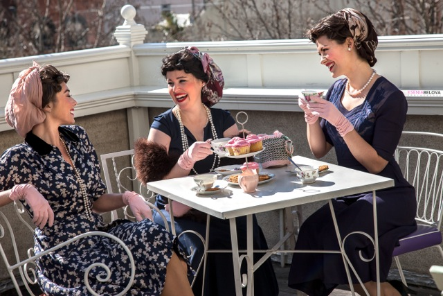 A vintage tea party with The Pacific Belles