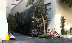 All Glee props and staging are kept under wraps