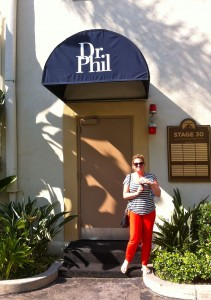 The door to Dr Phil's studio