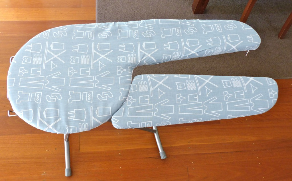 REVOLUTIONARY SPLIT ADJUSTABLE IRONING BOARD!