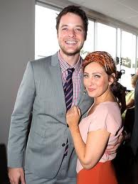 Hamish Blake and Zoe Foster