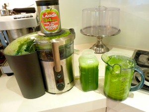 My home made green juice