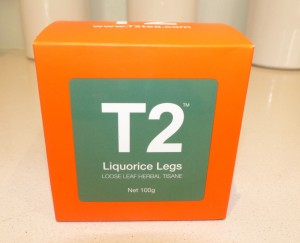 T2 Licorice Legs tea