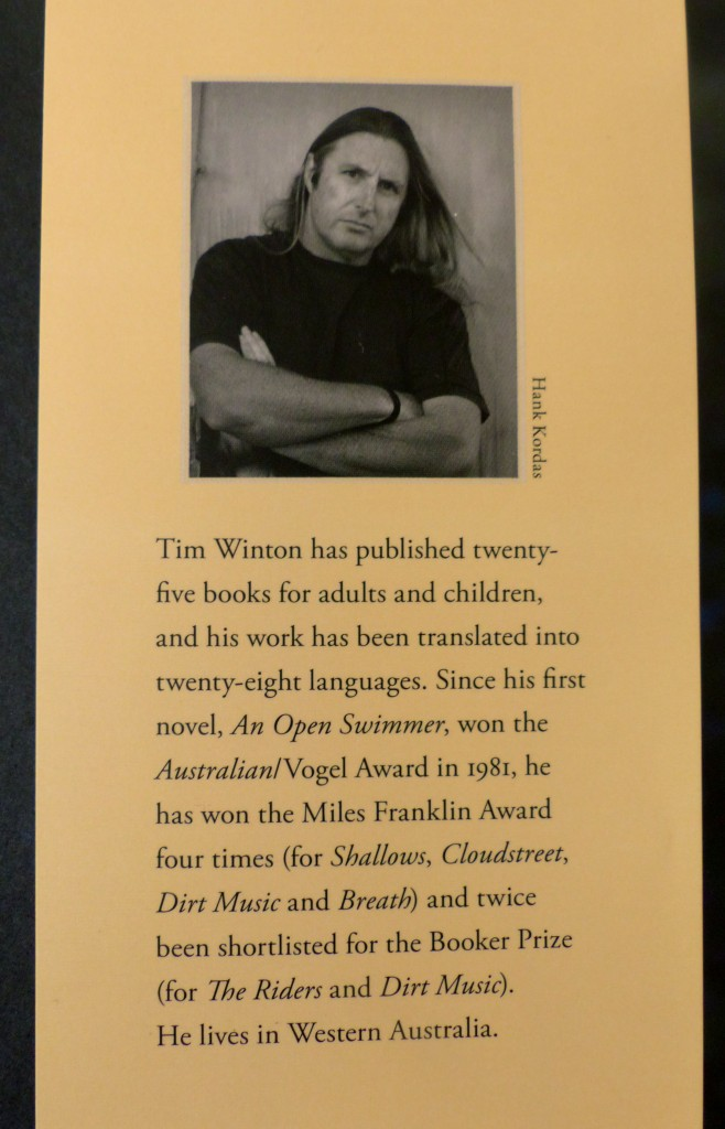 A private individual - Tim Winton, author