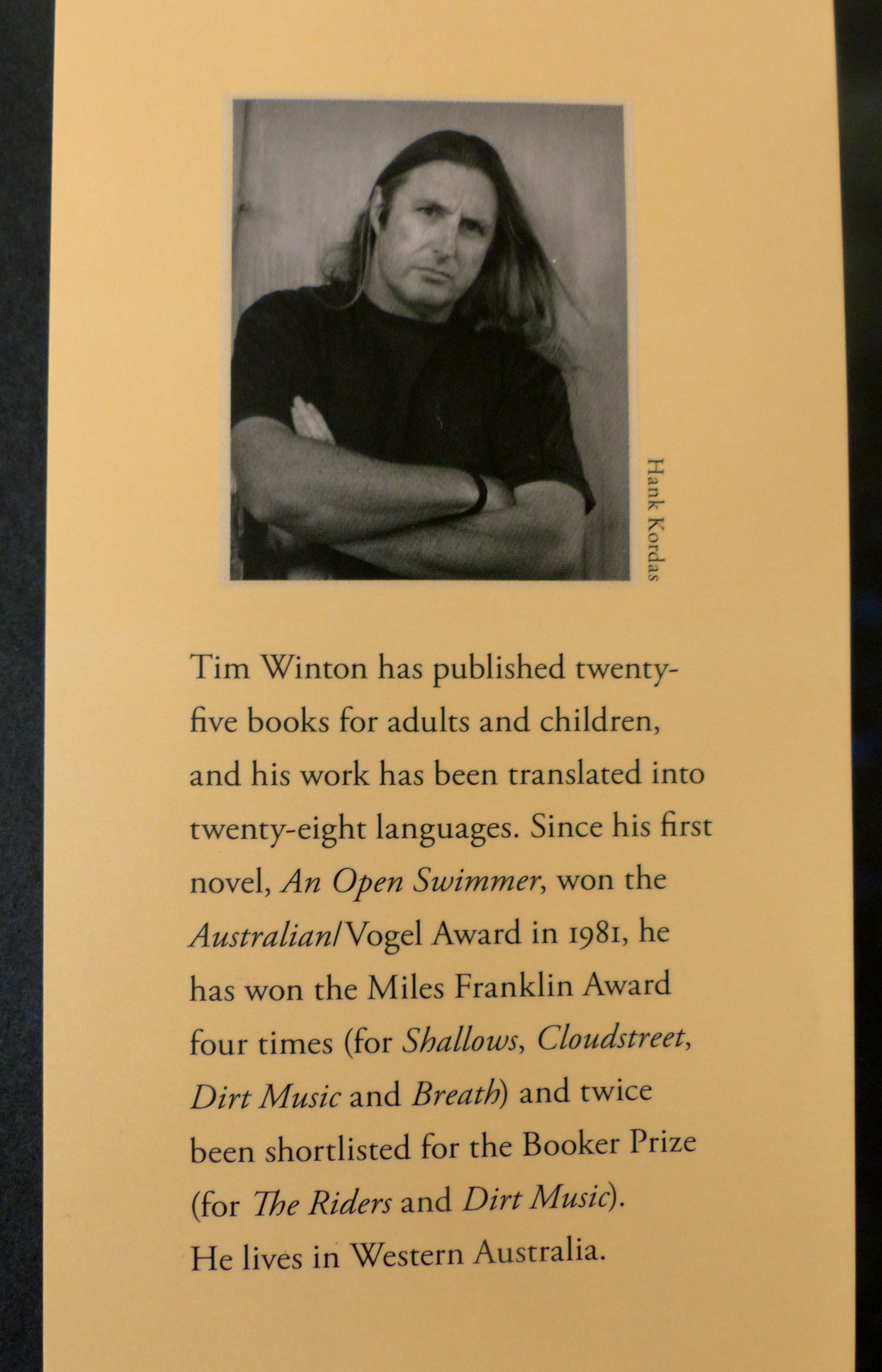 secrets essay tim winton