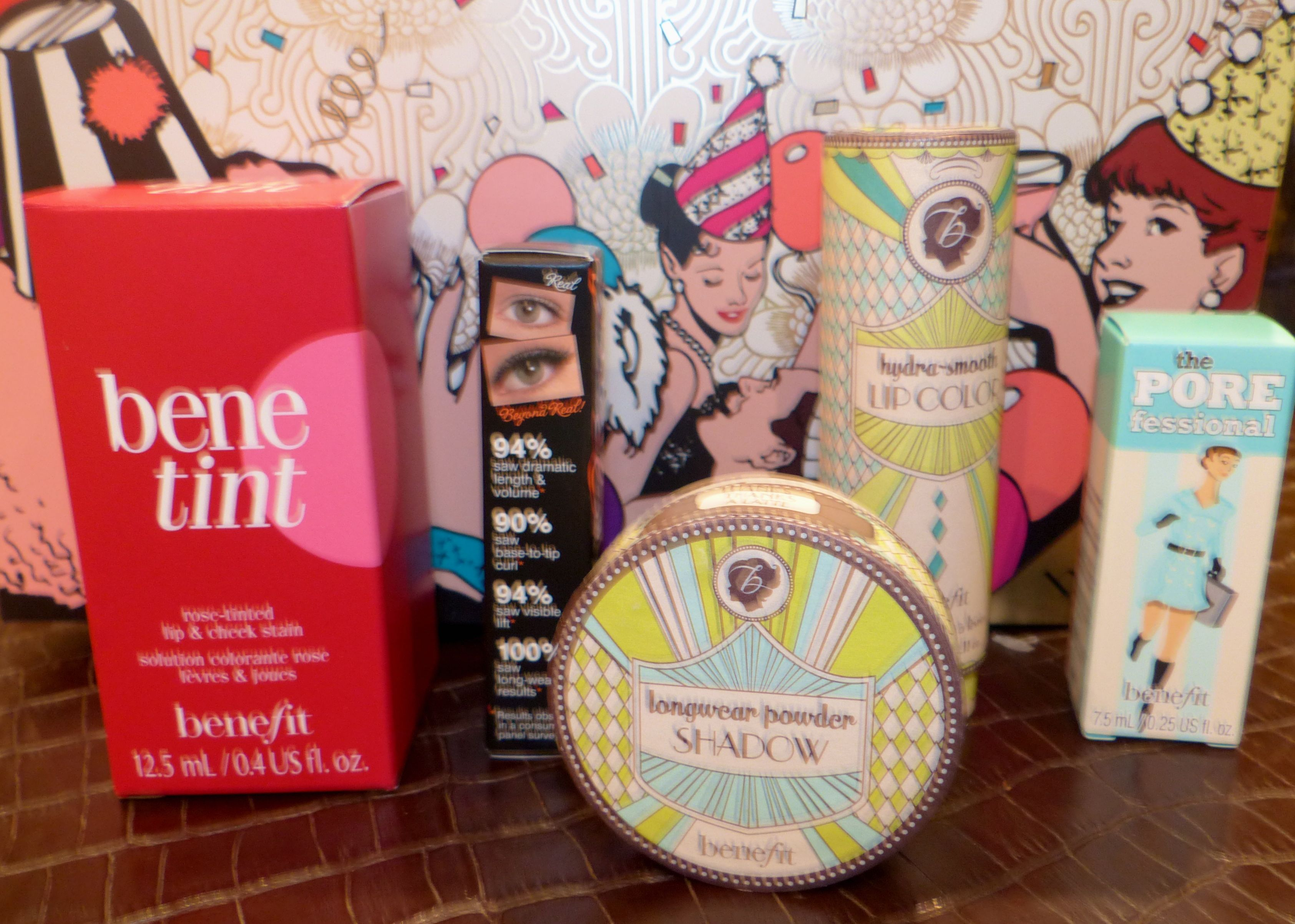 Beautiful make-up from Benefit