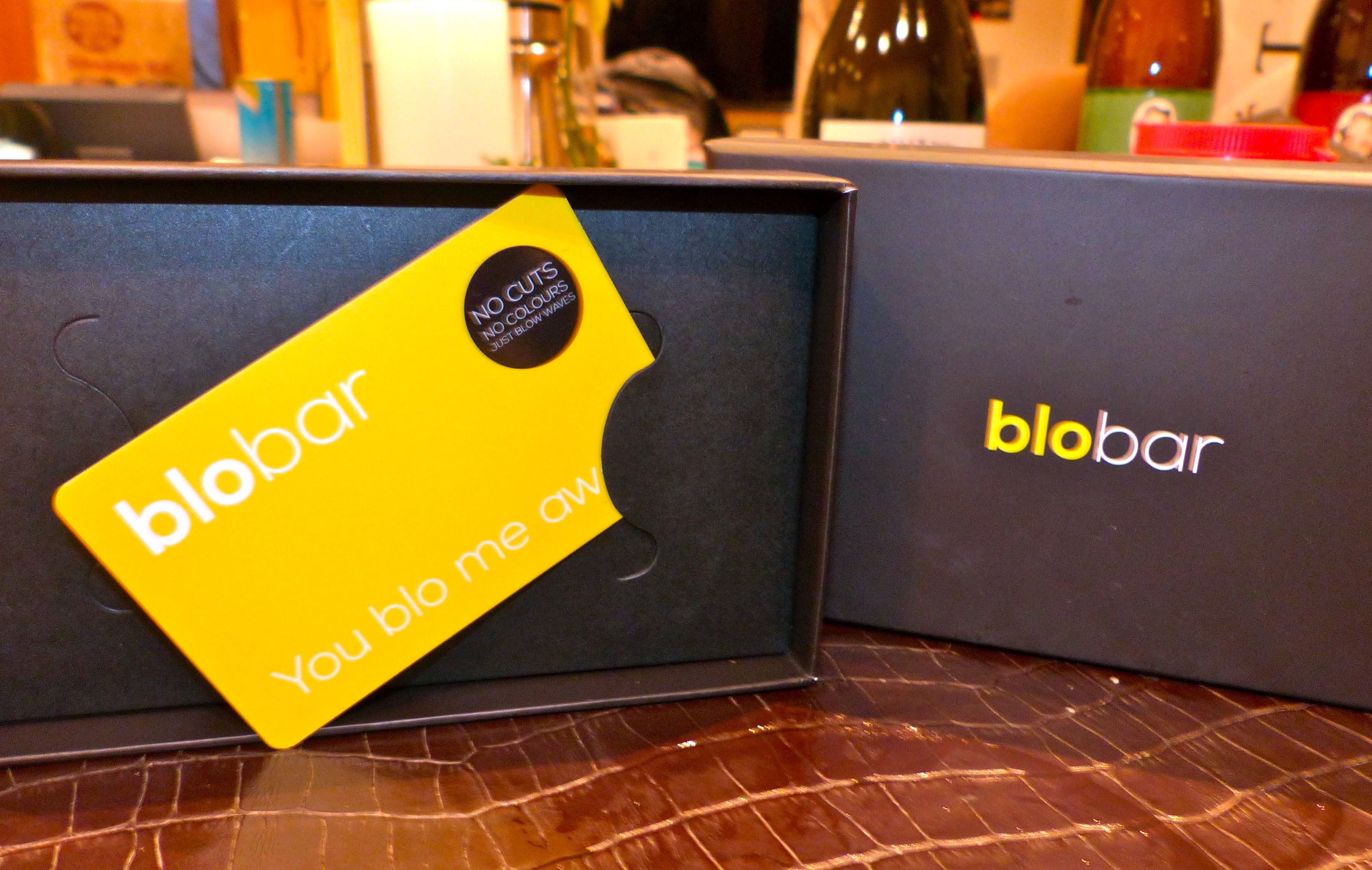 Make-up and blow-dry voucher from Blo Bar