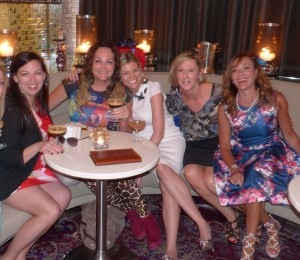 Martinis anyone? Jane, Kate, Dee Dee, Rebecca and Ann Peacock at The Waiting Room