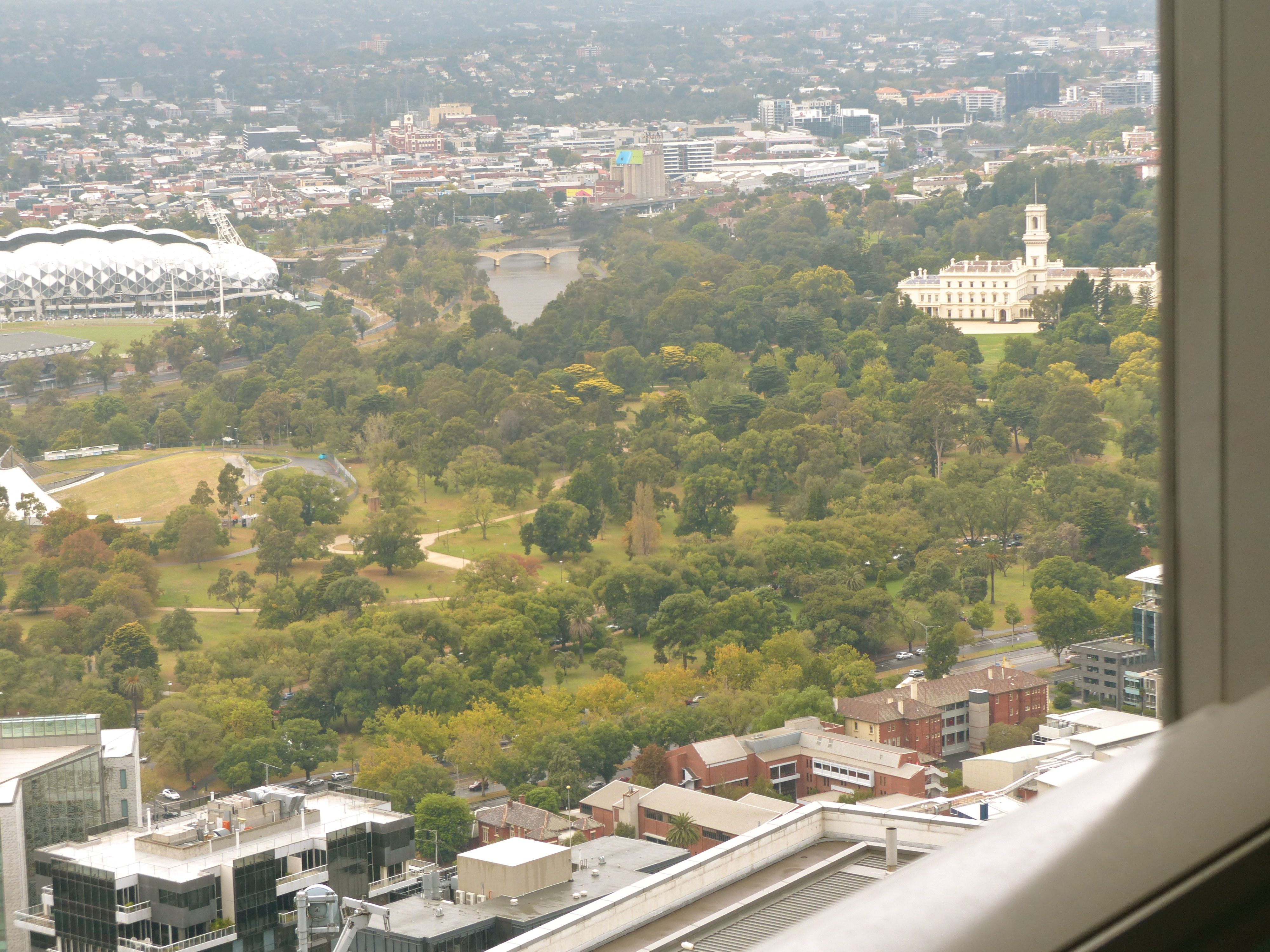 Government House and the MCG