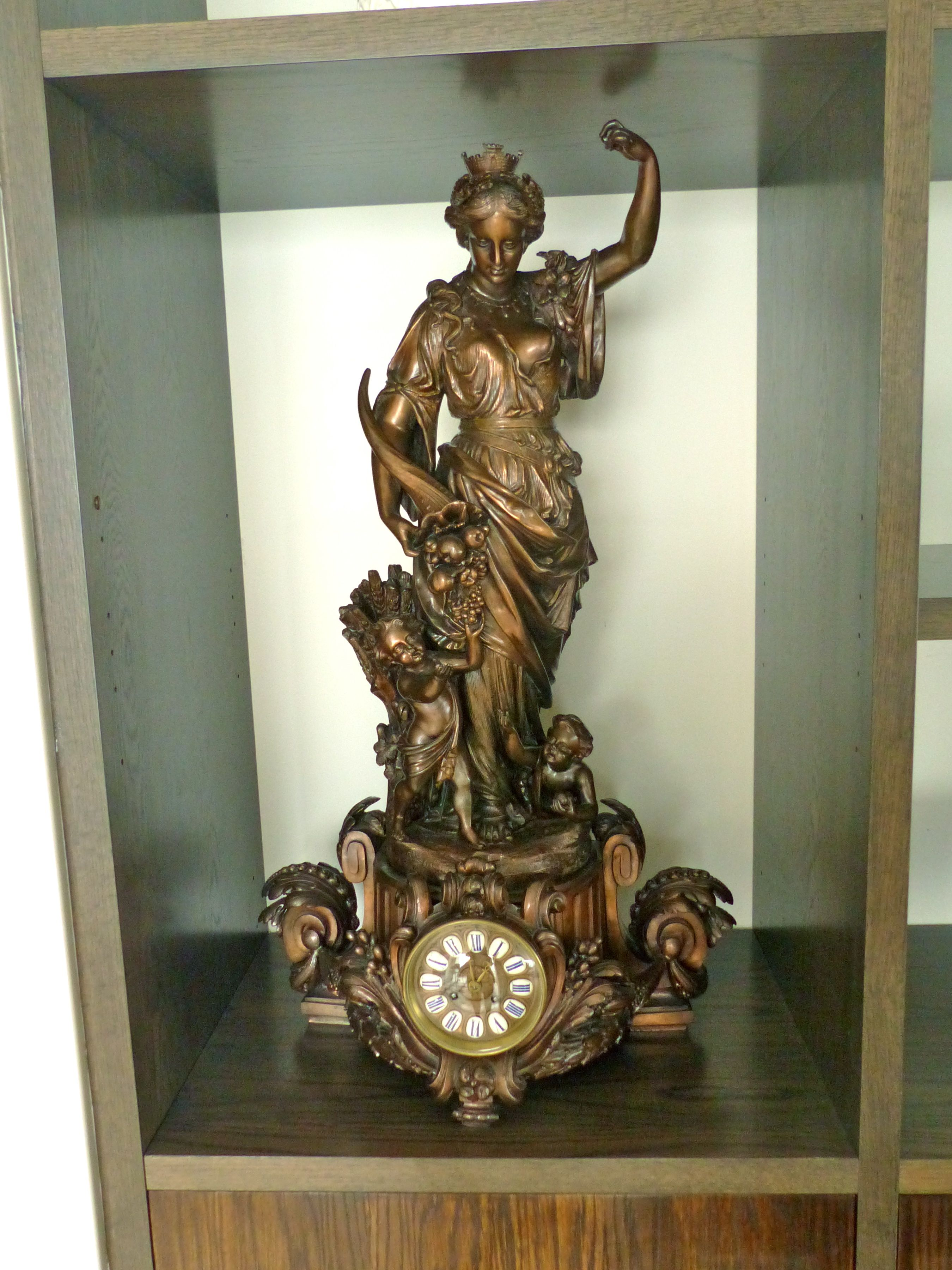 Parisian Antique clock from 1890
