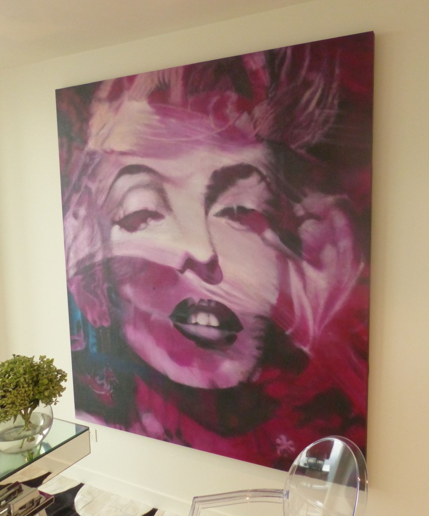 The Marilyn painting