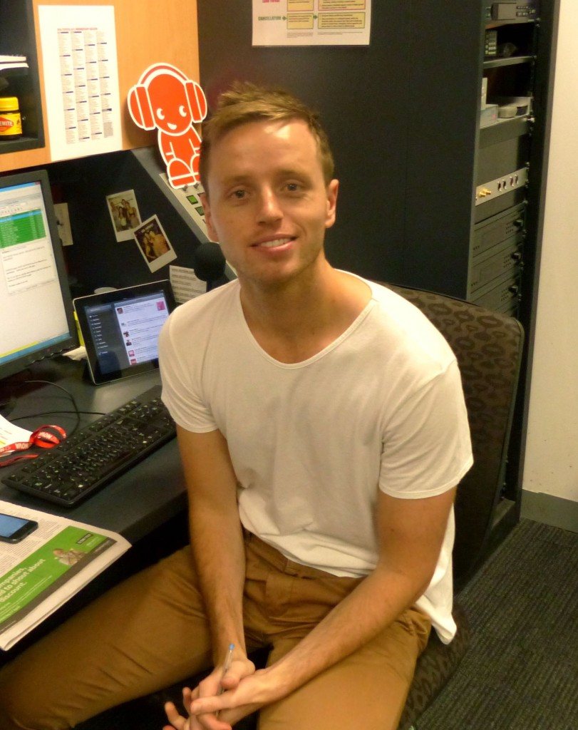 Nova news presenter Matt Smithson