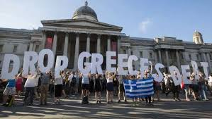 Protests over the economic crisis in Athens