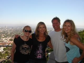 With friends Chris Veitor and Krista Vendy in LA