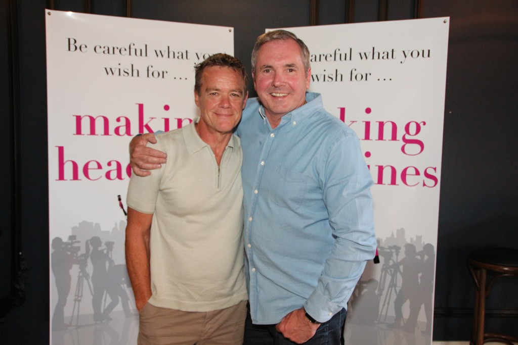 Stefan Dennis and Fletch